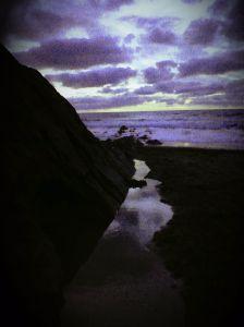 Ocean path violet