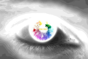 Rainbow Eye by Antonia Zenkevitch