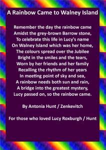 A Rainbow Came to Walney Island
