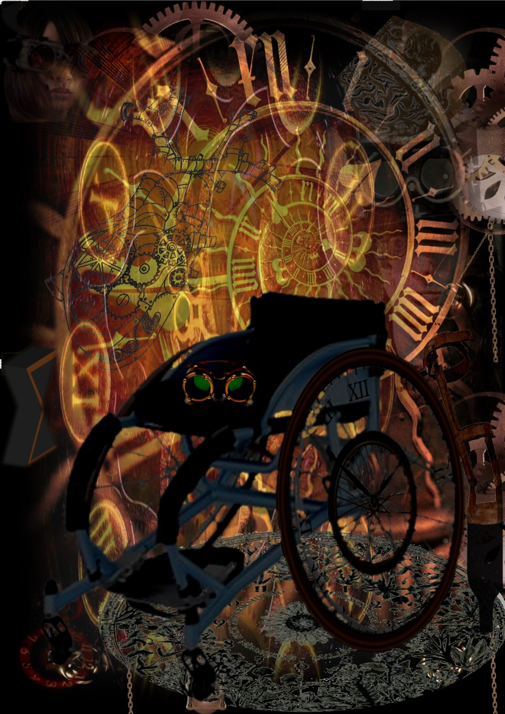Wheels of Time by Antonia Sara Zenkevitch