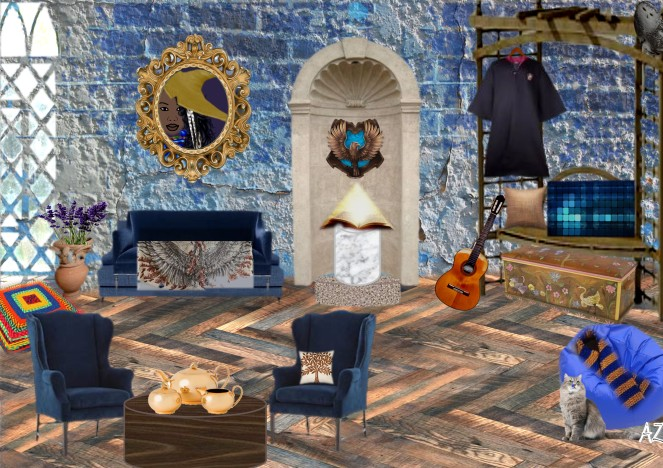 ravenclaw library seating area 2