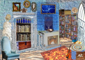 ravenclaw library